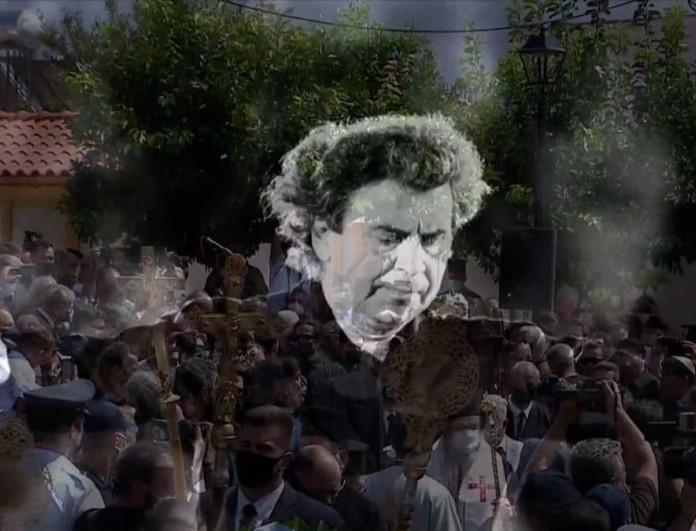 Κηδεία Μίκη Θεοδωράκη: Ανατρίχιασαν οι βρακοφόροι με τον αποχαιρετισμό τους