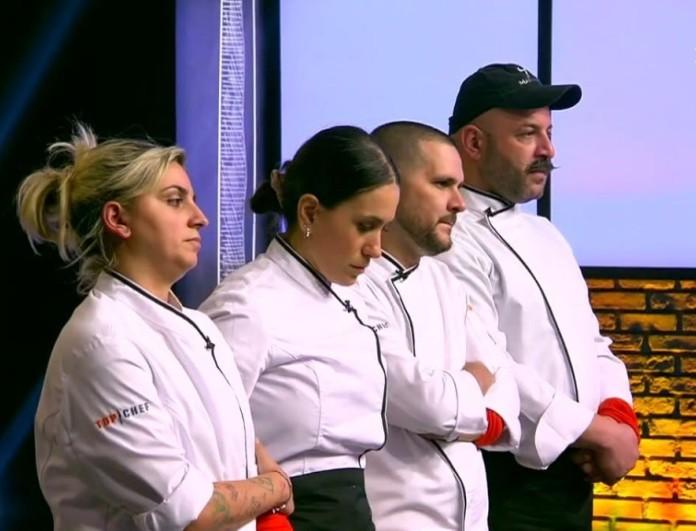 Αυτός είναι ο τέταρτος υποψήφιος για αποχώρηση από το Top Chef