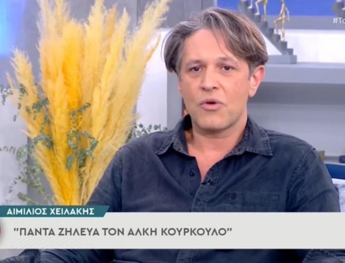 Αιμίλιος Χειλάκης: «Δεν μπορούν να τιμωρηθούν οι άνθρωποι που έχουν παίξει μαζί με τον Πέτρο Φιλιππίδη»
