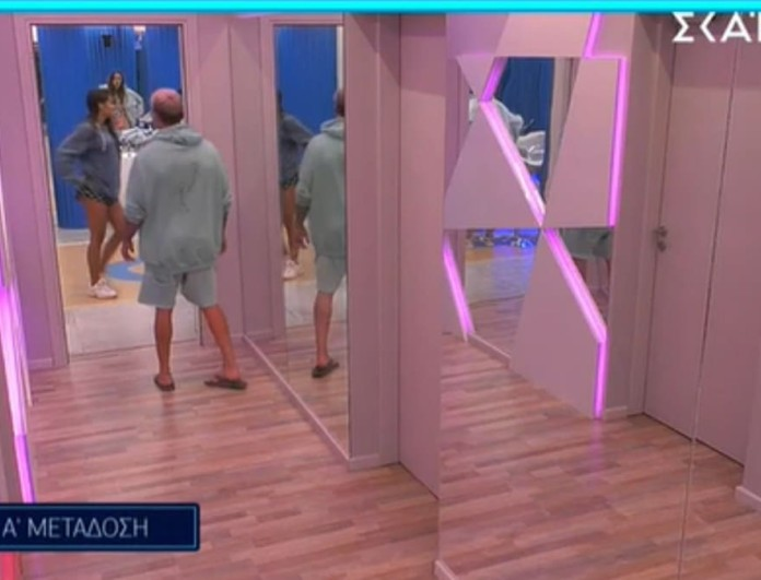 Big Brother 2: Χαμός ανάμεσα στον Παναγιώτη και την Ανχελίτα εξαιτίας της Ευδοκίας