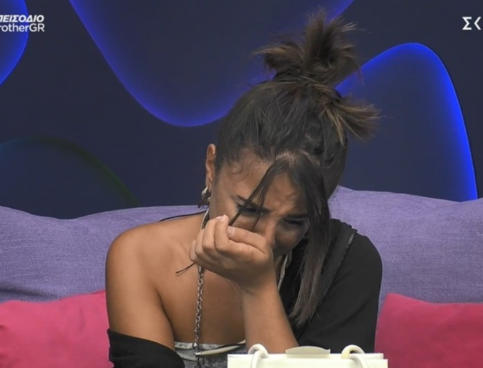 Big Brother 2: Κατέρρευσε η Σύλια - Δεν μπορούσε να μιλήσει από το κλάμα