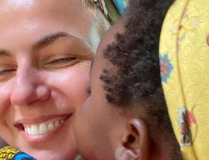 Ευτυχισμένη μαμά η Χριστίνα Κοντοβά - Η νέα της φωτογραφία με τη μικρή Ada
