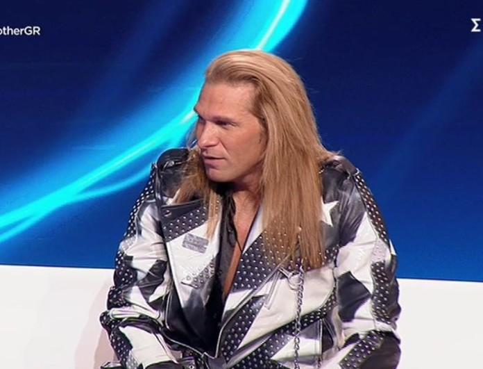 Big Brother 2: Η «χαοτική» εμφάνιση του Δημήτρη Πυργίδη στο πλατό