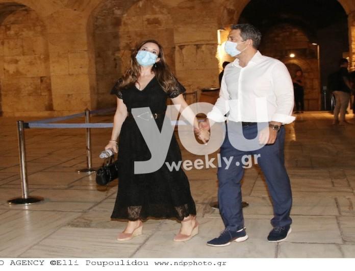 Ευγενία Δημητροπούλου: Η πρώτη επίσημη εμφάνιση με τον σύζυγό της - Αποκλειστικές φωτογραφίες