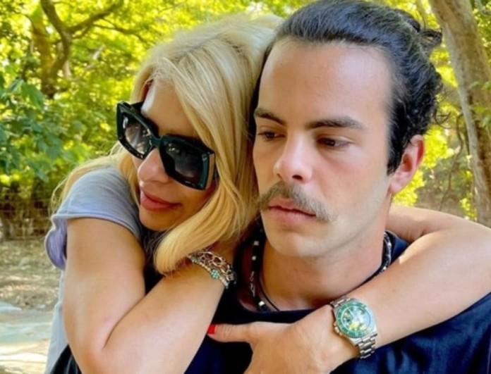 Πένθος για τον γιο της Ελένης Μενεγάκη, Άγγελο Λάτσιο