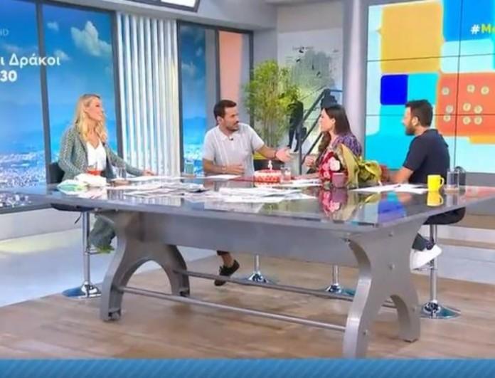 Mega Καλημέρα: Γενέθλια στο πλατό για την Φλορίντα - Η τούρτα έκπληξη