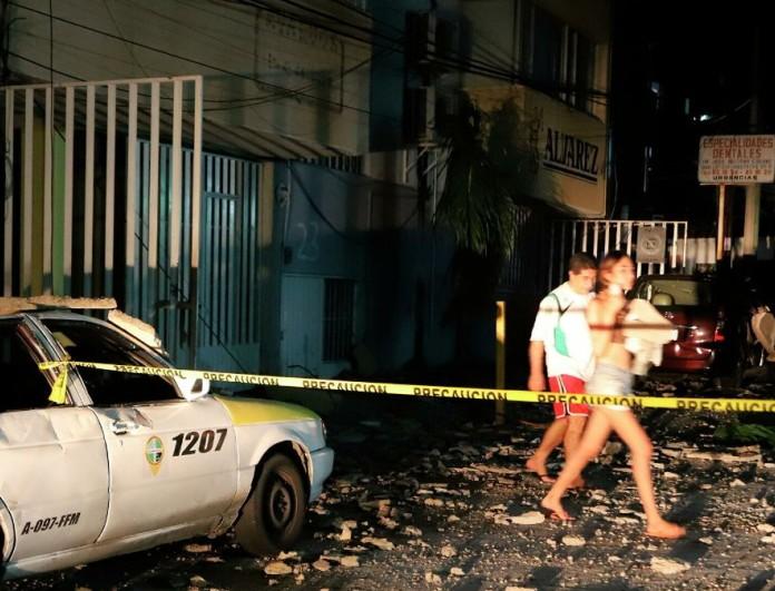 Σεισμός 7 Ρίχτερ ταρακούνησε το Γκερέρο του Μεξικό
