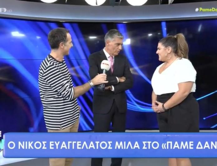 Αφοπλιστικός ο Νίκος Ευαγγελάτος - «Έχω πια την πολυτέλεια εκτός από την είδηση να πω και γνώμη»