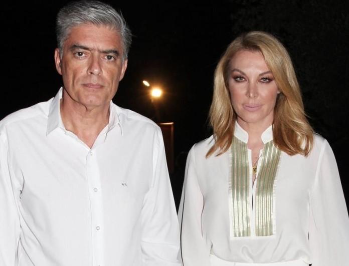 Ρομαντική έξοδος για την Τατιάνα Στεφανίδου και τον Νίκο Ευαγγελάτο