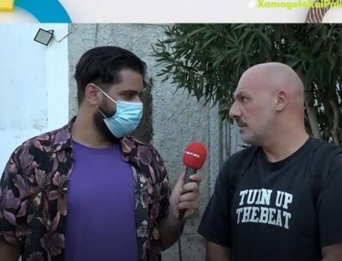 «Κάηκε» μπροστά στην κάμερα ο Νίκος Μουτσινάς - «Δεν βλέπω Big Brother και Top Chef»