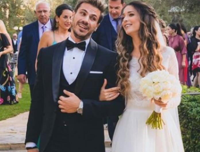 Το φωτογραφικό άλμπουμ από τον γάμο Πετρετζίκη και Παπαμιχαήλ - «Δεν πίστευα ποτέ πως θα νιώσω τόση ευτυχία!»