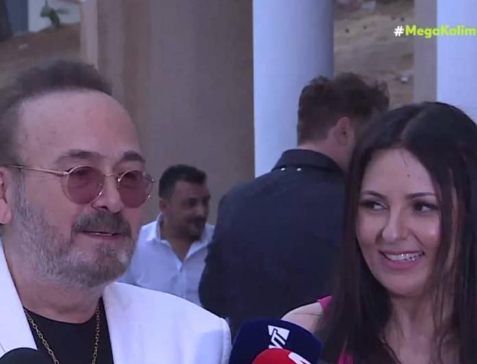 Βάφτισαν την κόρη τους ο Σταμάτης Γονίδης και η Κατερίνα Κουργιουξίδου