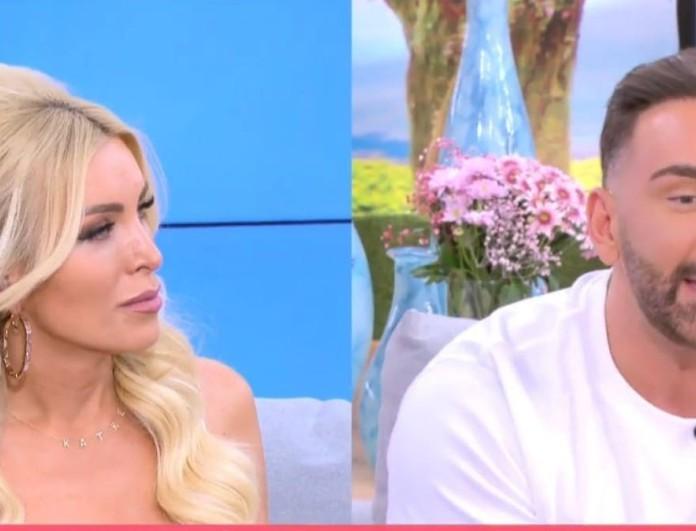 Super Κατερίνα: Ανακοίνωσε ότι είναι έγκυος λίγο πριν την πρεμιέρα του Just the 2 of us
