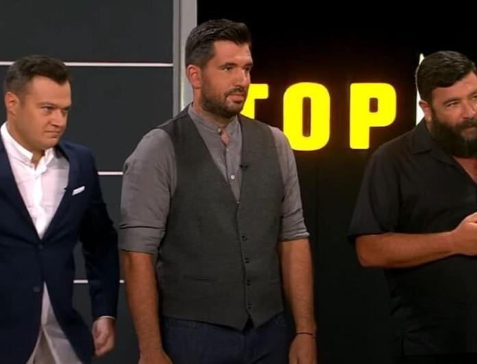 Top Chef: Αυτός είναι ο πρώτος παίκτης που αποχώρησε από το παιχνίδι