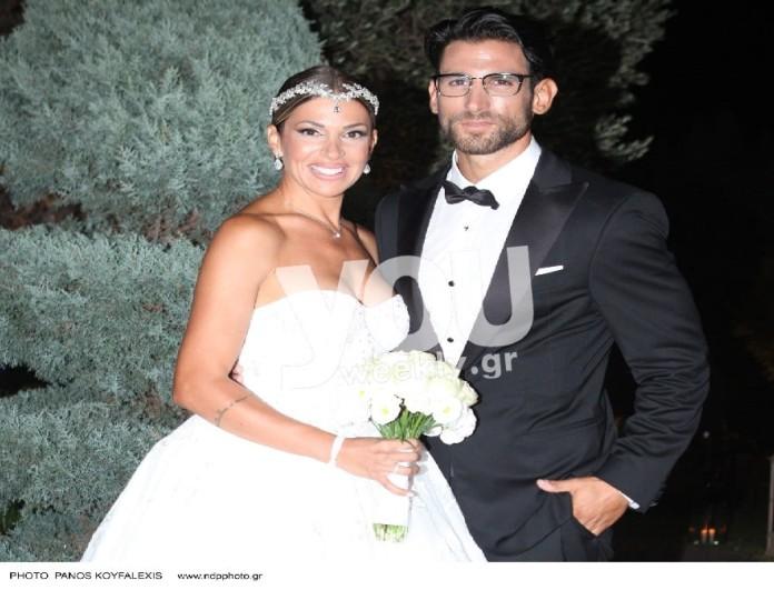 Χατζίδου - Παύλου: Πιο λαμπερός από ποτέ ο γάμος τους - Αποκλειστικές φωτογραφίες