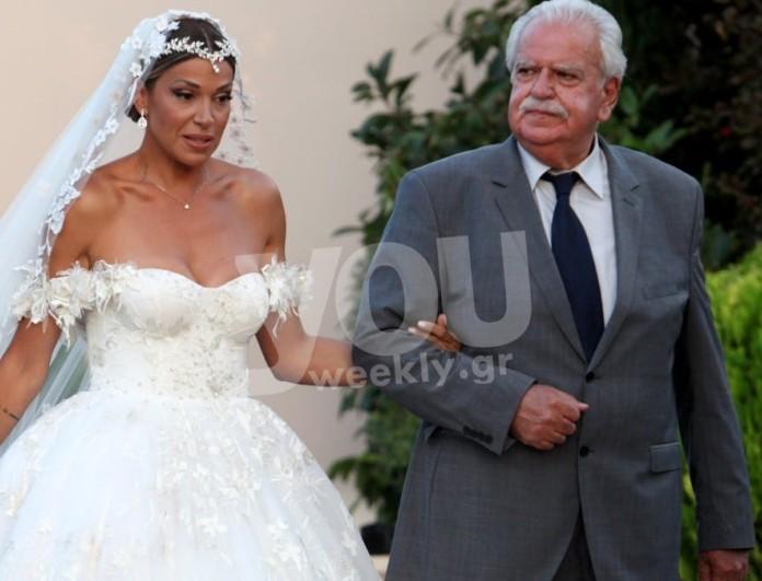 Παντρεύτηκαν η Ελένη Χατζίδου και ο Ετεοκλής Παύλου