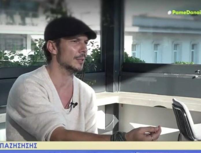 Εκνευρισμένος ο Ιώαννης Παπαζήσης στην κάμερα του MEGA - «Δεν σας αφορά η σχέση μας με τη Βανέσα»