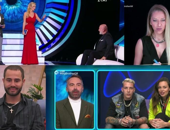 Big Brother 2 Highlights (15/10): Οι εκπλήξεις, τα κλάματα και η αποχώρηση