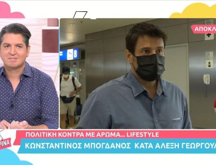 «Η δουλειά δεν είναι ντροπή» - Ξέσπασε ο Αλέξης Γεωργούλης κατά του Κωνσταντίνου Μπογδάνου