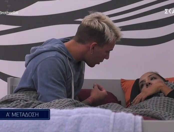 Big Brother 2: Κρίση στην σχέση Ανχελίτας - Παναγιώτη Πέτσα