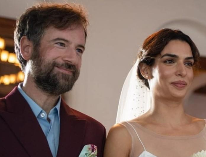 Δύο διαφορετικές μπομπονιέρες είχαν στον γάμο τους Σωτηροπούλου - Μαραβέγιας