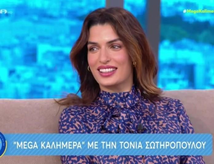 Τόνια Σωτηροπούλου: «Δε θα κάνουμε θρησκευτικό» - Οι πρώτες δηλώσεις για τον γάμο της με τον Κωστή Μαραβέγια