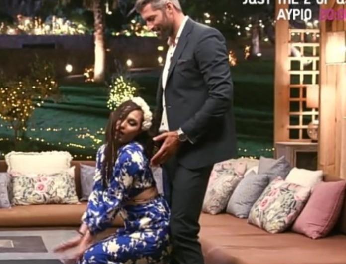 The Bachelor 2: Πανικός στο Twitter με τον χορό της Έλεν στον Αλέξη