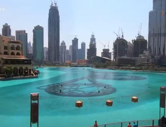 Εικόνες: Ο Τάσος Δούσης στην Ντίσνεϋλαντ των ενηλίκων, στο Ντουμπάι