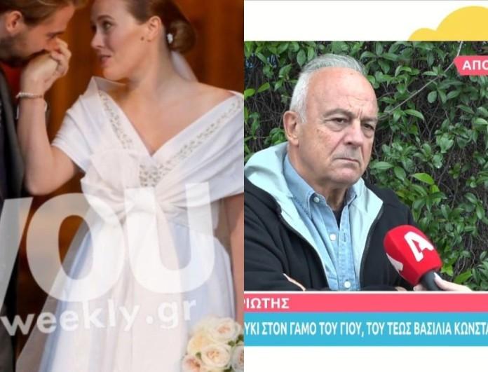 Θανάσης Πολυκανδριώτης: Αποκάλυψε τι έγινε στον γάμο του Φίλιππου Γλύξμπουργκ - Νίνα Φλορ