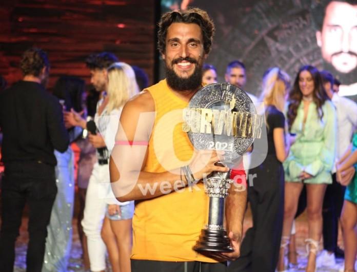 Δεν είναι πια μόνος - Τρελά ερωτευμένος ο νικητής του Survivor 4, Σάκης Κατσούλης