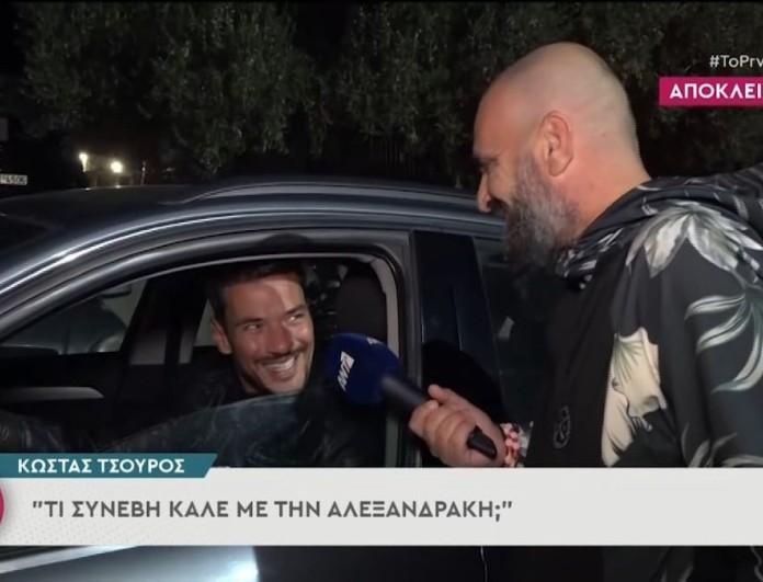 Η απάντηση του Κώστα Τσουρού στη Δήμητρα Αλεξανδράκη - «Απάντησα με ανάλογο ύφος...»