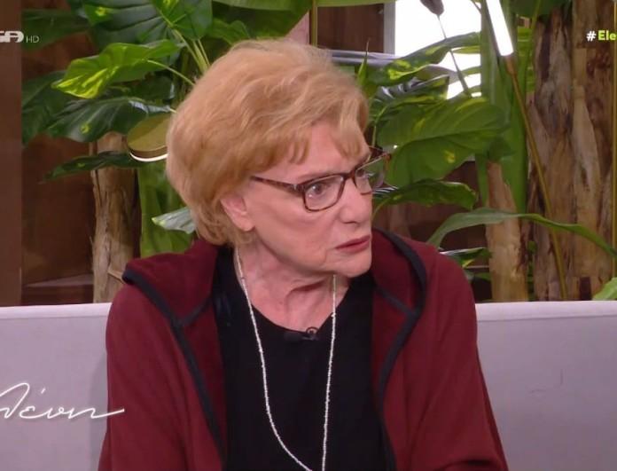 Ενοχλημένη η Μάρω Κοντού - «Έγραψαν για μένα ότι παίρνω...»