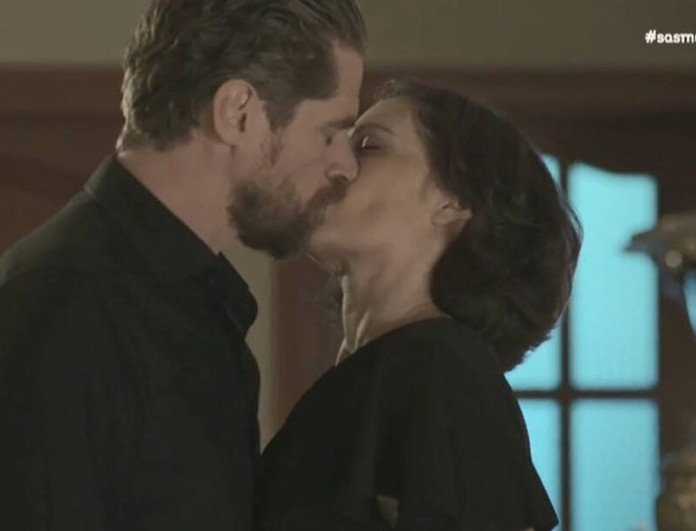 Σασμός: Χαμός στο Twitter με το φιλί Μαθιού και Βασιλικής - «Στις 9 του μακαρίτη...»