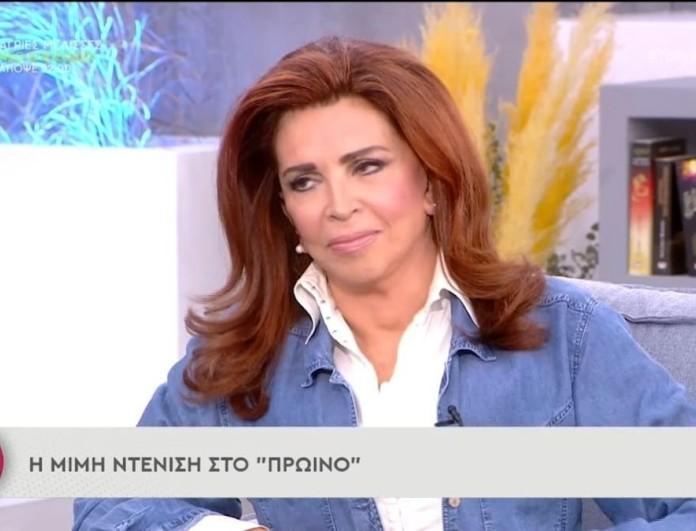 Συγκλονίζει η Μιμή Ντενίση: «Μου λέει:
