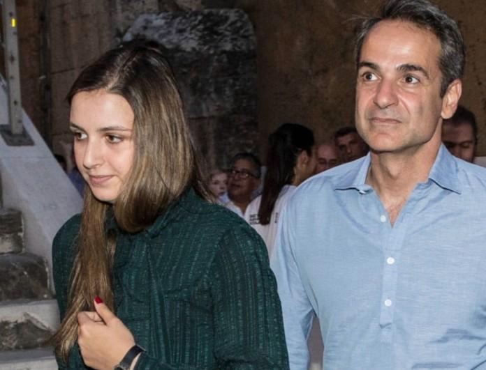 Κατασπάραξαν στο twitter την κόρη του Κυριάκου Μητσοτάκη, Σοφία - «Ξυδάκι άπλυτοι»
