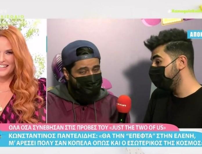 Κωνσταντίνος Παντελίδης: «Θα την έπεφτα στην Ελένη Βουλγαράκη» -