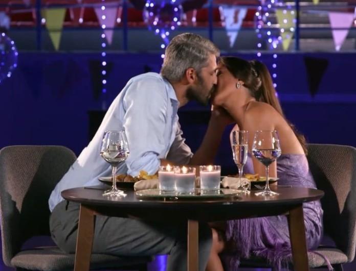 The Bachelor 2: Το παθιασμένο φιλί του Αλέξη Παππά - Λένας