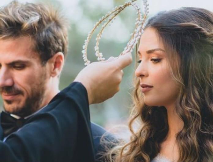 Άκης Πετρετζίκης - Κωνσταντίνα Παπαμιχαήλ: Τι αποκάλυψε η σχεδιάστρια του νυφικού για τον φαντασμαγορικό τους γάμο;