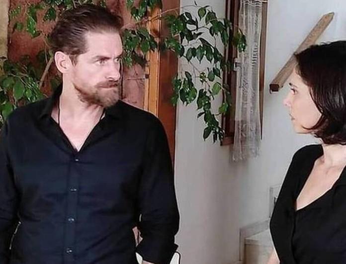Σασμός: Πιάνουν στα πράσα την Βασιλική να φιλιέται με τον δολοφόνο του άνδρα της, Μαθιό