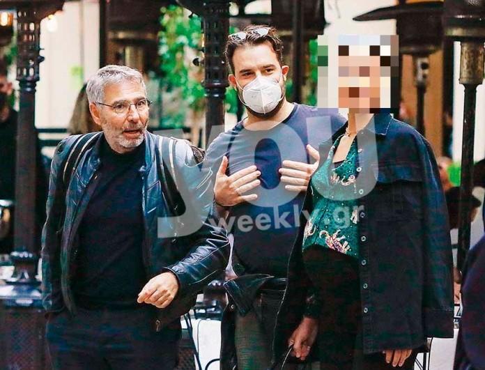 Με φουσκωμένη κοιλίτσα στους δρόμους της Αθήνας η ηθοποιός - Αποκλειστικές φωτογραφίες μαζί με τον Θοδωρή Αθερίδη