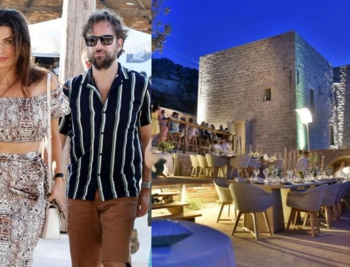 Παραμυθένιο και πανάκριβο - Αυτό είναι το ξενοδοχείο που έκαναν τον γάμο τους ο Μαραβέγιας με την Σωτηροπούλου