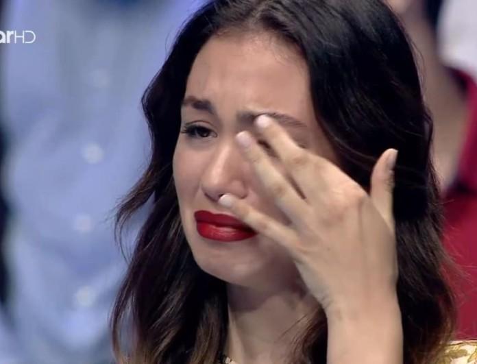 GNTM 4: Ξέσπασε σε κλάματα η Στέλλα με την κριτική του Δημήτρη Σκουλού