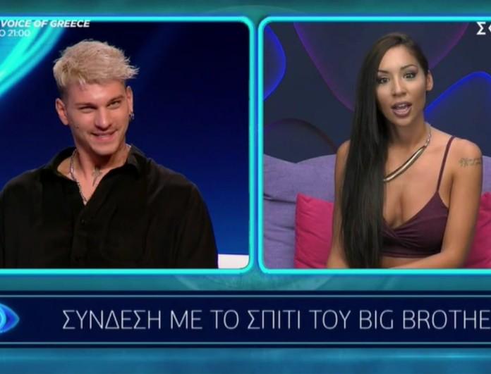Big Brother 2: Στηβ σε Ανχελίτα «Μου χρωστάς πολλά συγγνώμη»