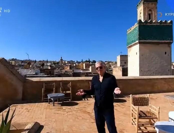Εικόνες: Ο Τάσος Δούσης στο ατμοσφαιρικό Μαρόκο