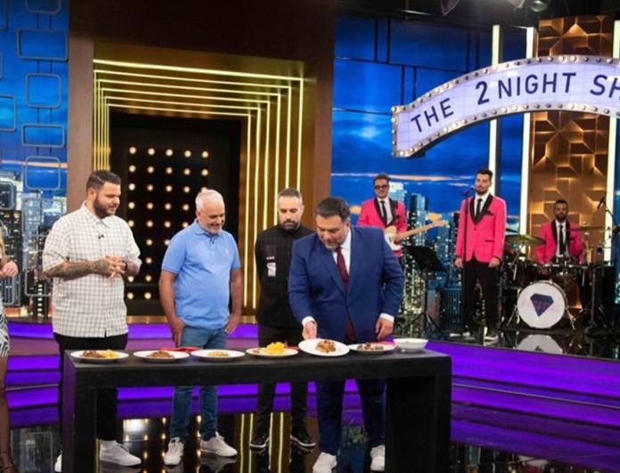 Η Ντορέττα Παπαδημητρίου και οι κριτές του Game of Chefs απόψε στο The 2night Show