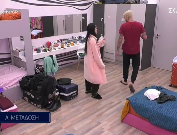 Big Brother 2: Ακόμα δεν μπήκε η Βιολέτα και τους έκανε άνω κάτω - Τσακώθηκε με τον Στηβ για τα μάτια του Νίκου
