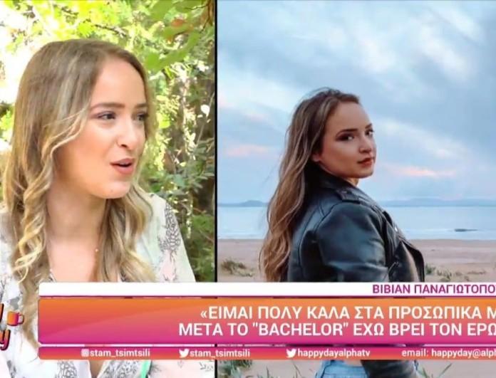 The Bachelor: Η Βίβιαν «σπάει» τη σιωπή της για τον χωρισμό Βασιλάκου - Νικολέττας