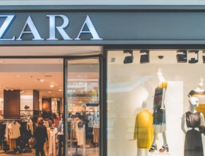 Μοιάζει πανάκριβο αλλά κοστίζει λιγότερο από 40 ευρώ - Το σατέν φόρεμα από τα Zara που κάνει θραύση
