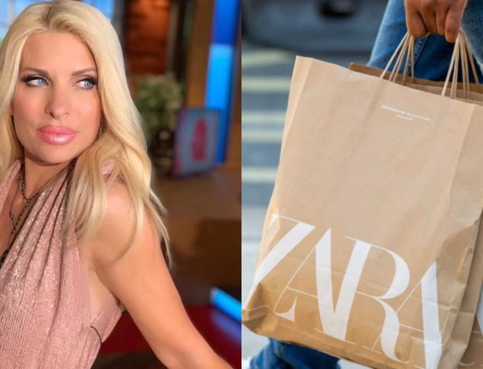 Είναι Zara, κοστίζει 20 ευρώ και το φόρεσε η Ελένη Μενεγάκη - Ξεπουλάει ήδη σαν τρελό