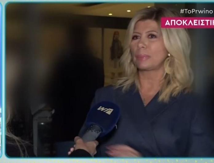 Ξεσπά η Ζήνα Κουτσελίνη: «Δεν θέλαμε να κουκουλώσουμε τον Λιγνάδη! Είμαι μητέρα ενός ανήλικου..»